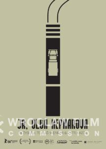 plakat, ulotka artysyczna awers Ja Olga